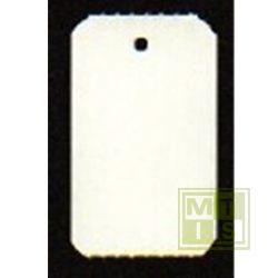 Hangetiketten op rol formaat 30x50mm blanco no perf