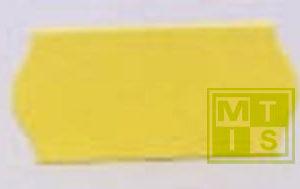 Etiket TK6 (permanent) 26x12 LET OP: Rood (per 54.000st.)