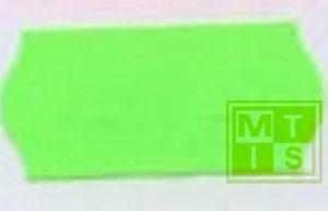 Etiket TK6 (permanent) 26x12 Fluor Groen (per 54.000st.)