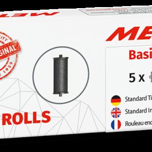 Tintenrolle Meto Basic S 5 Stk für 22x12-etiketten